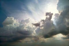шторм облаков Стоковые Фото