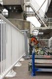 шторм обслуживания потока барьера Стоковое Изображение