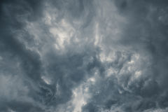 шторм 2 облаков Стоковое Изображение RF
