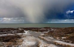 шторм окликом облаков Стоковое Фото