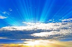 шторм пасмурного неба стоковые изображения