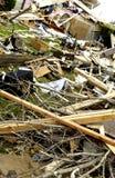 шторм повреждения стоковые фото