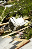 шторм повреждения стоковое изображение rf