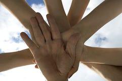 шторм рукоплескания Стоковая Фотография RF
