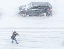 Шторм снега Стоковые Фото