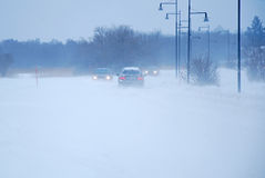 Шторм снежка Стоковые Фото