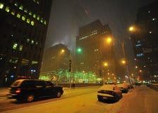 шторм снежка nyc Стоковая Фотография RF