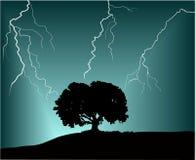 шторм иллюстрация вектора
