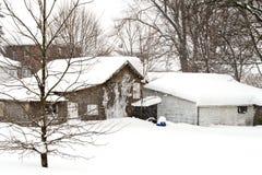 шторм 2010 -го в феврале Стоковые Изображения RF