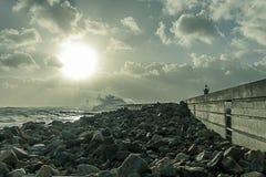 Шторм i моря Стоковые Фото