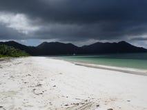 шторм praslin острова стоковые изображения rf