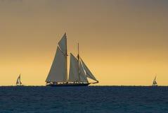 шторм regattas вниз Стоковые Фотографии RF