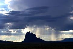 шторм shiprock Стоковые Фото