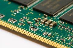 штоссель модуля памяти Стоковое Изображение
