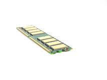 штоссель памяти карточки одиночный Стоковое фото RF