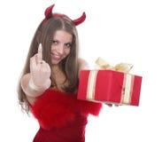 штраф дьявола Стоковая Фотография RF
