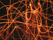штриховатости пламени Стоковые Изображения