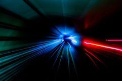 Штриховатости тоннеля Стоковая Фотография