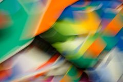 Штриховатости цвета и нерезкости движения 2 Стоковые Фото