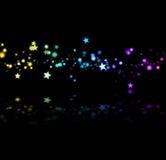 штриховатость звезды иллюстрация штока