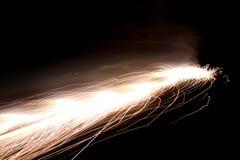 штриховатость кометы Стоковое фото RF