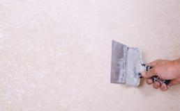 Штукатурить стены Стоковое фото RF