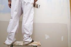 штукатурить человека Стоковая Фотография RF