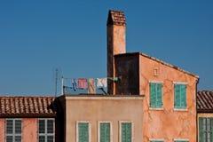 штукатурка зданий старая Стоковые Изображения