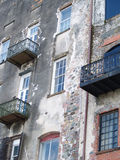 штукатурка камня здания кирпича Стоковая Фотография