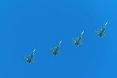 Штурмовики в airshow Стоковая Фотография RF