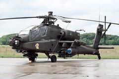 штурмовой вертолет апаша Стоковая Фотография RF