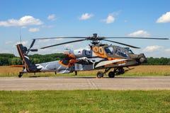 Штурмовой вертолет Боинга AH-64 апаша стоковые изображения