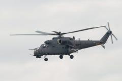 Штурмовой вертолет Mi-35M Стоковое фото RF