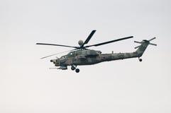 Штурмовой вертолет Mi-28N Стоковое Фото