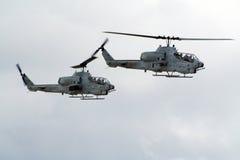 штурмовые вертолеты Стоковые Изображения