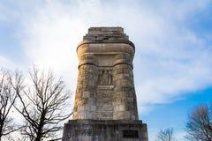 Штутгарта Bismarckturm памятника башни столбца осень Солнце Outdoors Стоковое Изображение RF