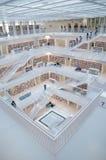 Штутгарт, Германия - 21-ое мая 2015: Публичная библиотека Штутгарта, Стоковое Изображение