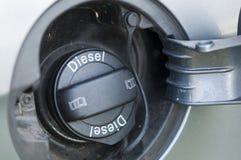 Штуцер для заправки топливом автомобиля стоковое фото rf