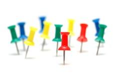 штыри принципиальной схемы цвета Стоковое Фото