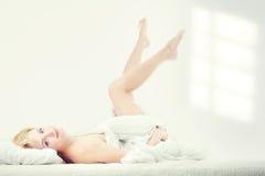 штырь спальни красотки вверх Стоковые Фотографии RF
