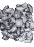 шумы черных ящиков Стоковое Изображение RF