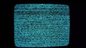 Шум Tv сток-видео