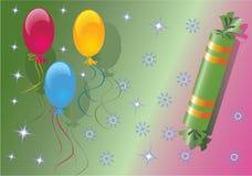 шутихи рождества воздушного шара Стоковая Фотография