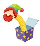 Шутка коробки Стоковое фото RF