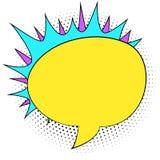 Шуточная предпосылка пузыря беседы стиля иллюстрация штока