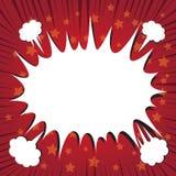 Шуточное заграждение пузыря речи Стоковое Изображение RF