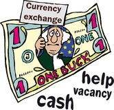 шуточное изображение s u доллара Стоковая Фотография RF