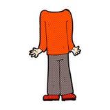 шуточное мужское тело шаржа (шаржи смешивания и спички шуточные или добавляют для того чтобы иметь Стоковая Фотография RF