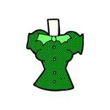 шуточное тело вампира шаржа (шаржи смешивания и спички шуточные или добавляют Стоковое фото RF