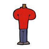 шуточное тело шаржа стоя все еще (шаржи смешивания и спички шуточные Стоковые Фотографии RF